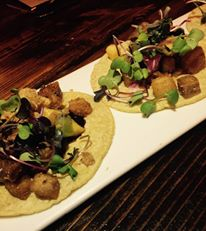 "Glorious porkbelly tacos at Chicago´s ""Shaman"""