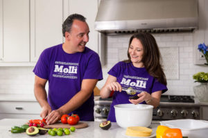 Rodrigo and Leticia Salas bring the true flavors of Mexico home with Mölli. Photo credit: Mölli Sauces